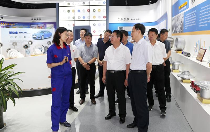 山西省翼城县委书记杨春权一行莅临公司参观交流