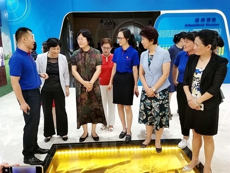 【春风化雨】省妇联领导莅临bob官方网页集团参观调研